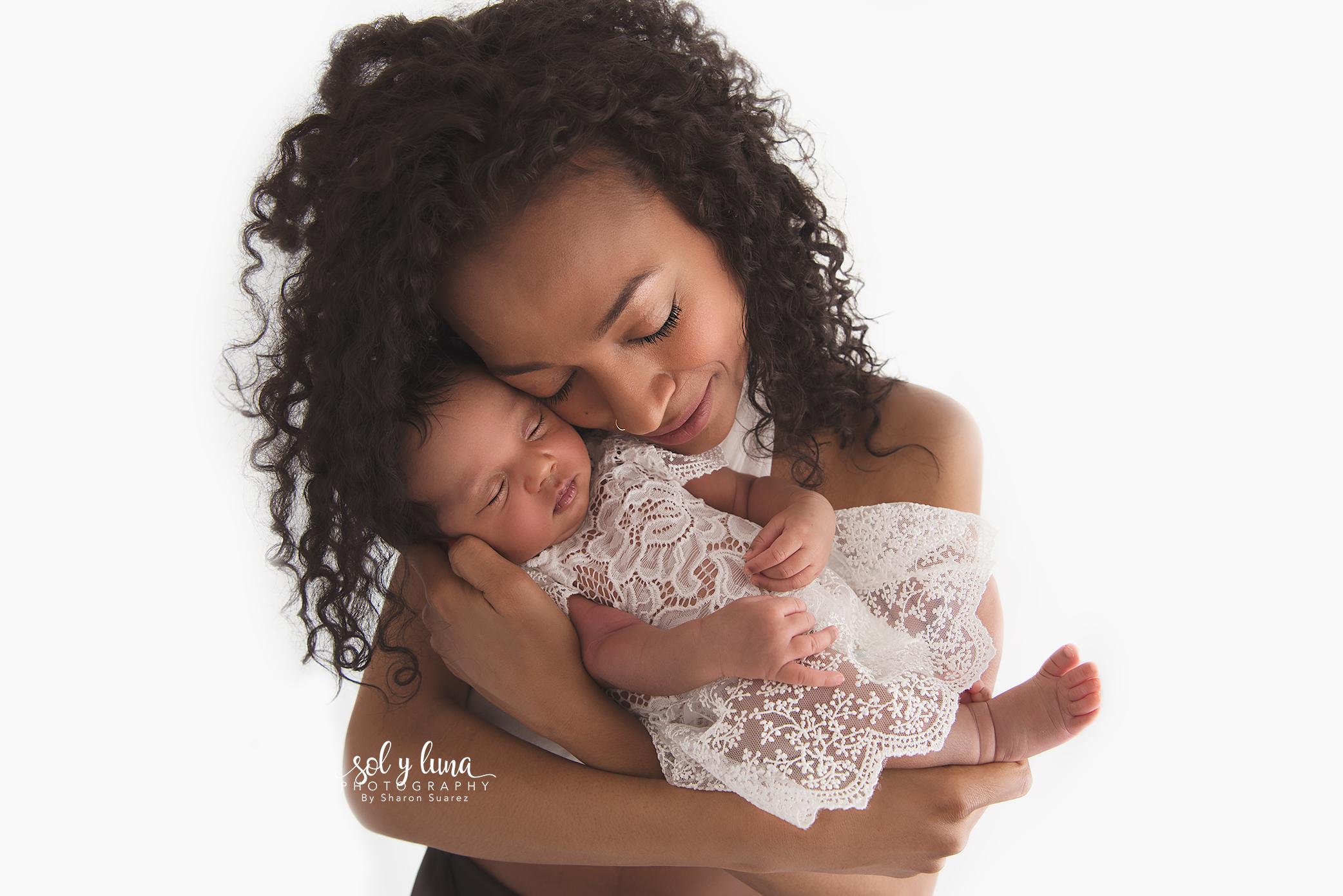 Mutter und Tochter Fotoshooting