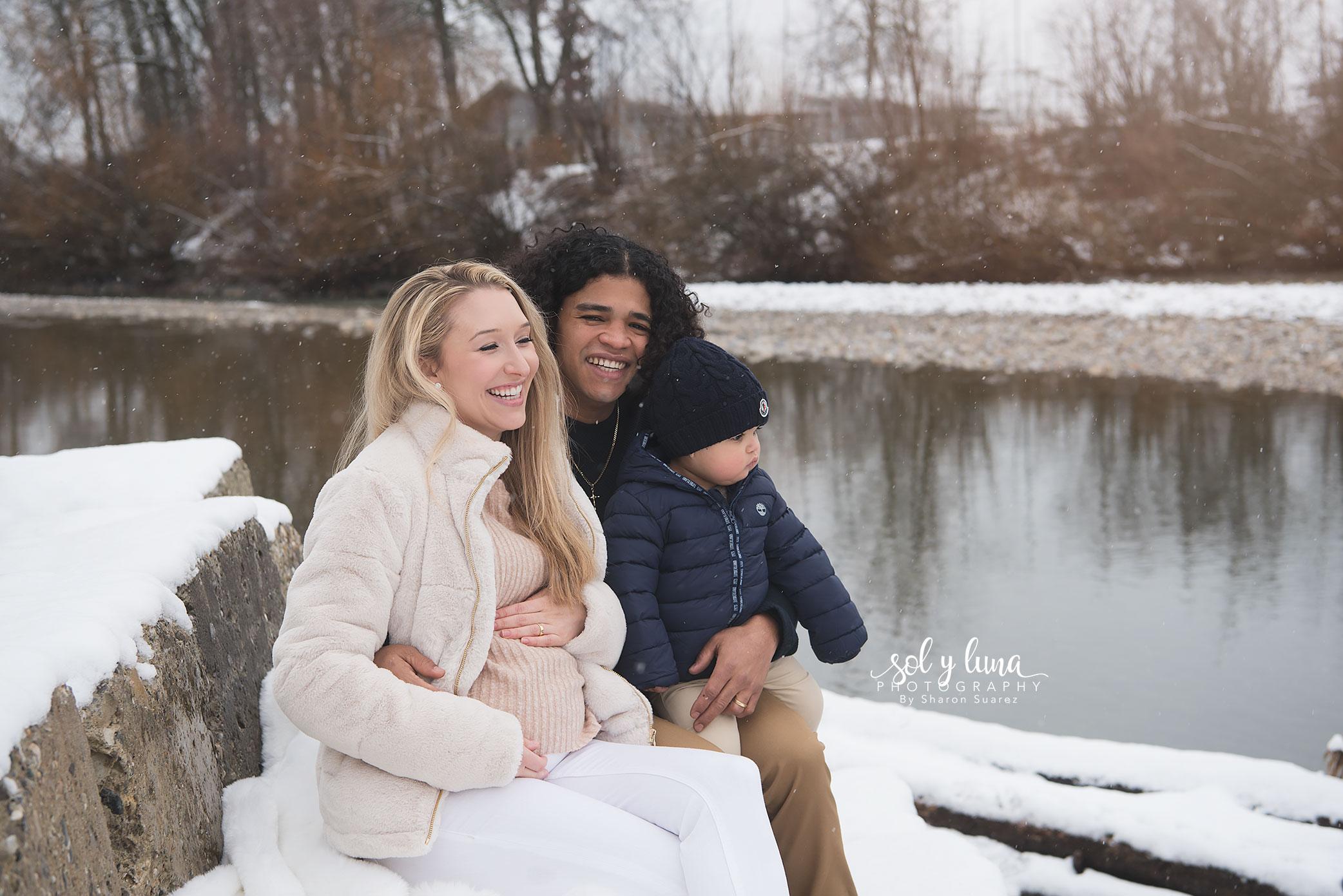 Familienfotoshooting Outdoor