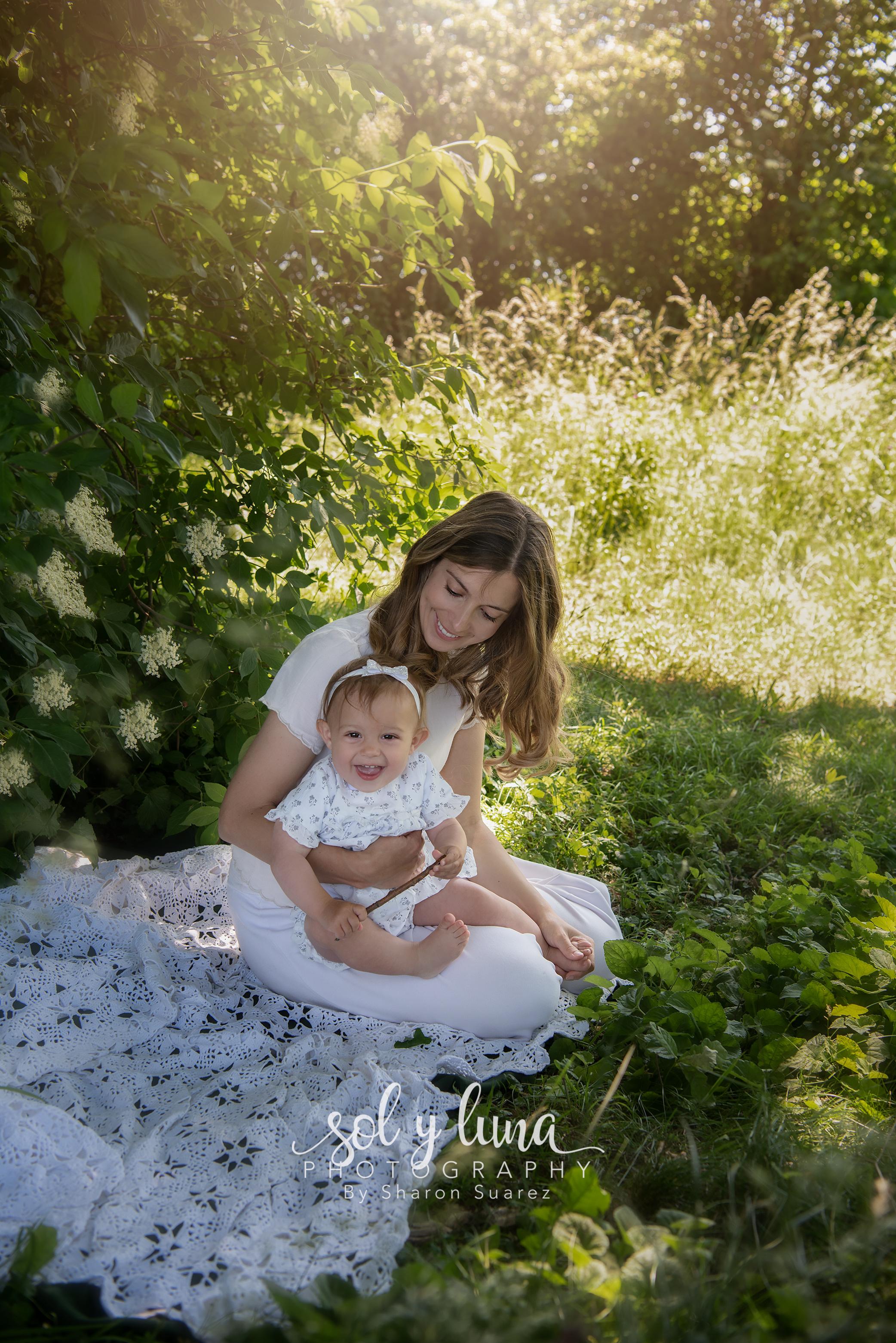 Familiefotoshooting Outdoor Sol y Luna Photography